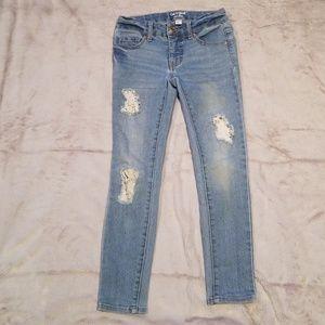Cat & Jack - Girl's super skinny jeans
